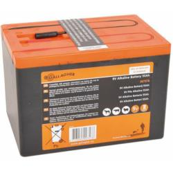 Bateria 9V / 55Ah powerpack (160 x 110 x 115 mm)