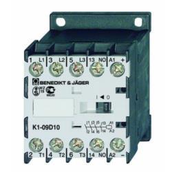 Stycznik miniaturowy K1-09D10  230 V 3 polowy 4kW/9A/230 V  AC / 1Z